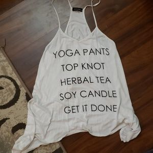 Tops - YOGA/GET IT DONE SHIRT